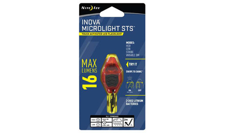 INOVA - Microlight STS™ Flashlight - Orange - MLSA-M3-R7-I