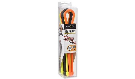 Nite Ize - Gear Tie 18'' Pro Pack - Assorted - 6Pack - GTPP18-A1-R8