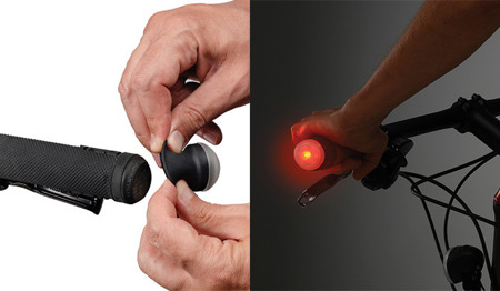 Nite Ize - GripLit™ LED Handlebar Lights - Red - GLT-10-R7
