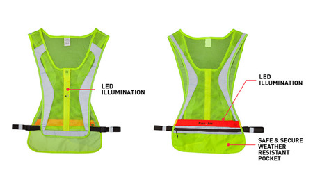 Nite Ize - LED Run Vest - L/XL - LRVL-33-R8