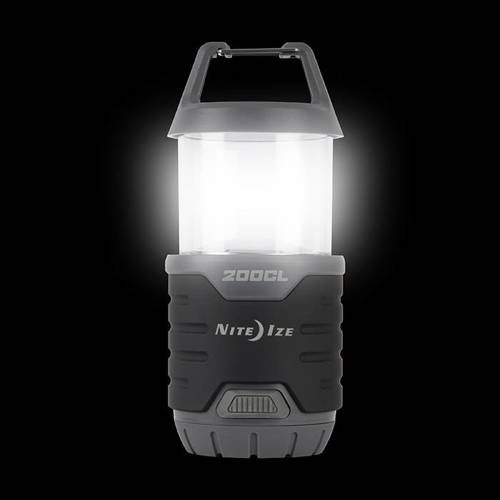 Nite Ize - Radiant 200 Collapsible Lantern + Flashlight - 200 lumens - R200CL-09-R8