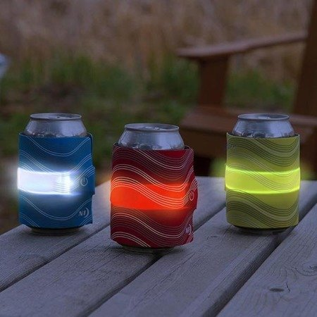 Nite Ize - SlapLit™ LED Drink Wrap - Blue - SLDW-03-R3