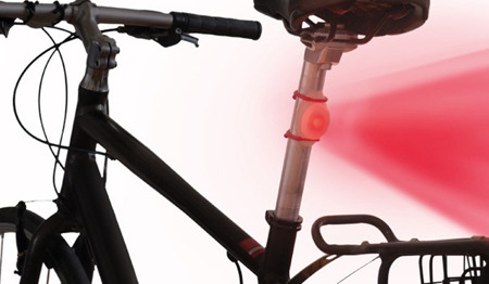 Nite Ize - TwistLit LED Bike Light - White & Red - TLT-2PK-A1P1