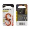 Nite Ize - S-Biner® SlideLock® Aluminum #2 - Orange - LSBA2-19-R6