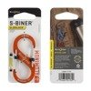 Nite Ize - S-Biner® SlideLock® Aluminum #3 - Orange - LSBA3-19-R6