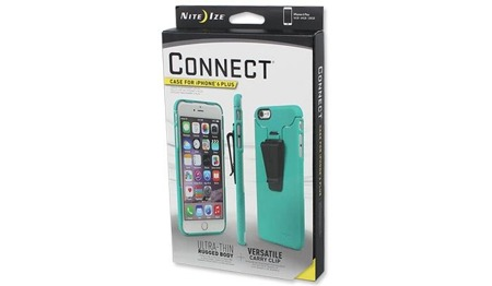 Nite Ize - Connect Case - iPhone 6 Plus - Teal - CNTI6P-36-R8