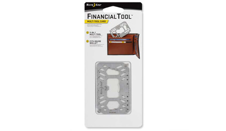 Nite Ize - Financial Tool Multi Tool Card - Stainless - FMTM-11-R7
