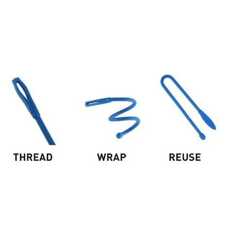 Nite Ize - Gear Tie® Cordable™ Twist Tie 3 in. - 4 pcs. - GTK3I-A1-4R7