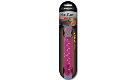 Nite Ize - Nite Dawg LED Collar Cover - Pink - NDCC-03-12