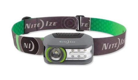 Nite Ize - Rechargeable Headlamp Radiant 250 - 5 modes - R250RH-17-R7