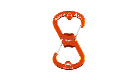 Nite Ize - S-Biner Ahhh Bottle Opener - Orange - SBOA-19-R6