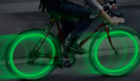 Nite Ize - See'Em Mini Spoke Lights - Green - 2Pack - NSE2-03-28