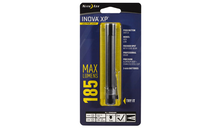 Inova - XP LED Pen Light - Czarny - XPB-01-R7-I