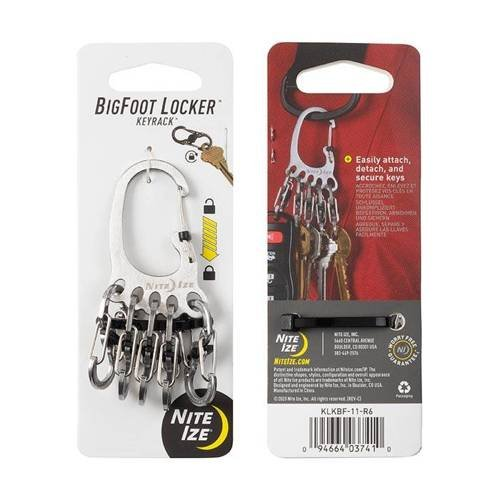 Nite Ize - BigFoot KeyRack Locker - Stalowy - KLKBF-11-R6