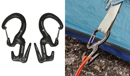 Nite Ize - Carabiner Figure 9 Small - Black Gate - MC9S-02-01