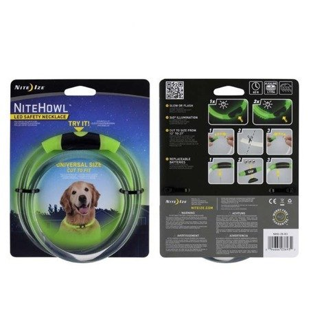 Nite Ize - NiteHowl™ LED Safety Necklace - Zielony - NHO-28-R3